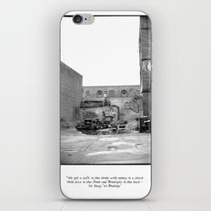 The City 3: Brooklyn In The Back iPhone & iPod Skin