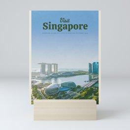 Visit Singapore Mini Art Print
