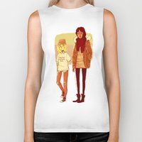 snk Biker Tanks featuring Ymir and Historia by rhymewithrachel