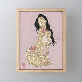 GIRL03 Framed Mini Art Print