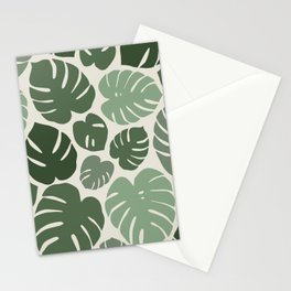 Monstera Dreams - Forest Stationery Cards