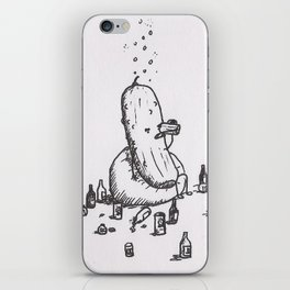 The Pickling Process iPhone Skin