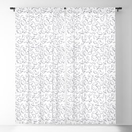 Dinosaurs Outline Pattern Blackout Curtain