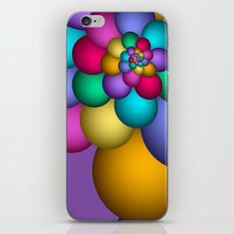 turn around with colors -58- iPhone Skin