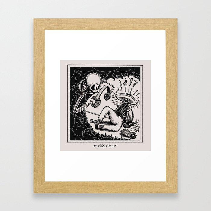 el mas mejor Framed Art Print