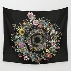 Circle of Life Dark Wall Tapestry