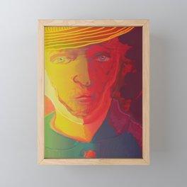 Dear Van Gogh / Stay Wild Collection Framed Mini Art Print
