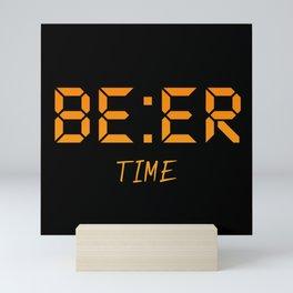 Beer time Mini Art Print