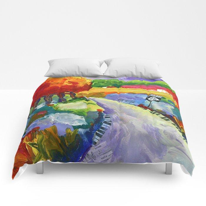 Twist and Turn Comforters