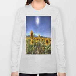Sunflower Summer Days Long Sleeve T-shirt