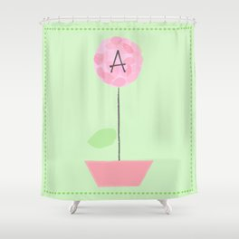 Flower A Shower Curtain