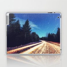 Winter Road to the Stars Laptop & iPad Skin