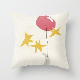 Sonne, Mond und Sterne Throw Pillow