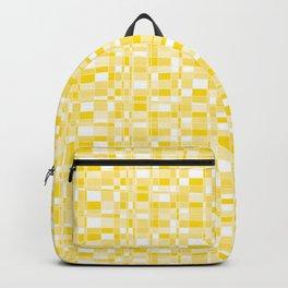 Mod Gingham - Yellow Backpack