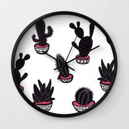 cactus collective Wall Clock