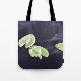 Waterlily pads Tote Bag