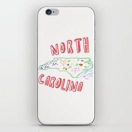 North Carolina iPhone Skin
