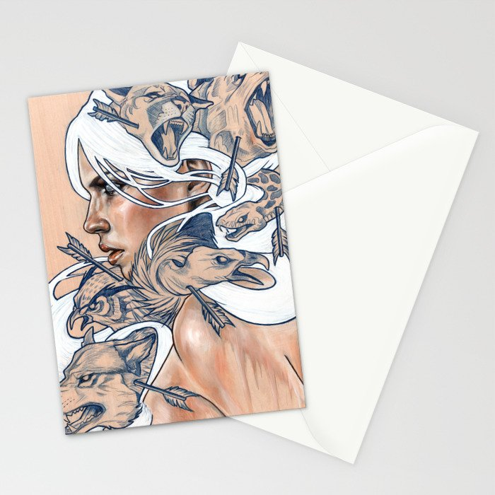 The Hunt Stationery Cards