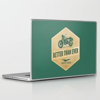 moto Laptop & iPad Skins featuring moto guzzi by Liviu Antonescu