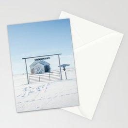 Winter, Galpin Church, Montana Stationery Cards
