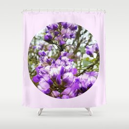 Mountain Laurel Window Shower Curtain