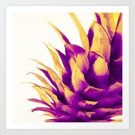 Pineapple Color Pop Art Print
