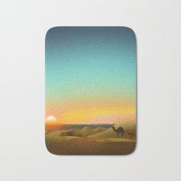 Sahara Sunset Bath Mat
