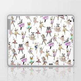 Animal Square Dance Hipster Ballerinas Laptop & iPad Skin