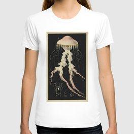 Vintage Illustration of a Jellyfish (1853) T-shirt