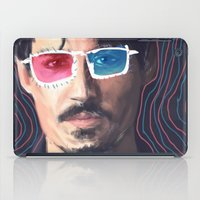 johnny depp iPad Cases featuring Johnny Depp by Pazu Cheng