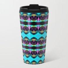 BLACK AND BRIGHT Metal Travel Mug