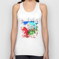 guinea pig Tank Tops featuring Guinea Pigs In A Cage by Adamzworld