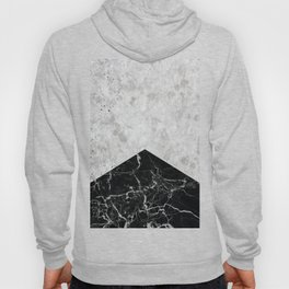 Concrete Arrow - Black Granite #844 Hoody
