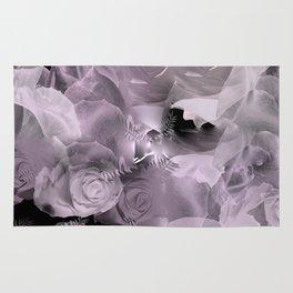 Floating Roses & Clouds Rug