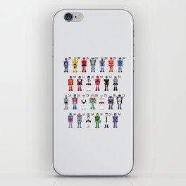 Transformers Alphabet iPhone Skin