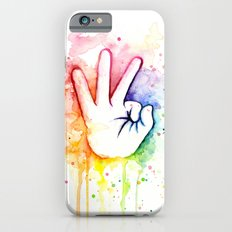 Tight Rainbow Slim Case iPhone 6s
