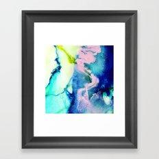 Rosa Caelum Framed Art Print