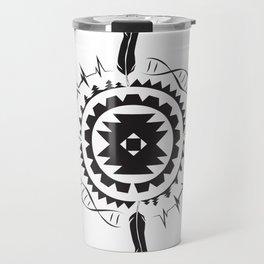 Native Amrican STEM Mandala Southwestern Travel Mug