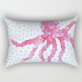 Octopink! Rectangular Pillow