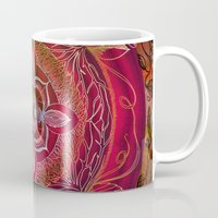 chakra Mugs featuring Root Chakra by brenda erickson