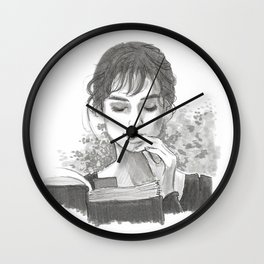 Pride & Prejudice - Elizabeth Bennet Wall Clock