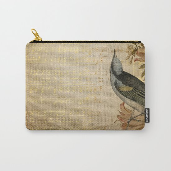 Vintage gold music #4 Carry-All Pouch