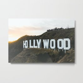 Hollywood Sign (Los Angeles, CA) Metal Print