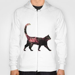 Abstract Cat Hoody