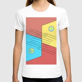 blueyellow T-shirt