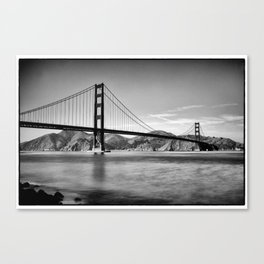 Golden Gate Bridge from Fort Point Canvas Print