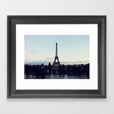 Eiffel by Evening Framed Art Print