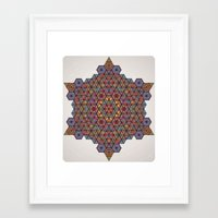 physics Framed Art Prints featuring Blunt Physics. by Space Jungle