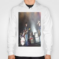 arctic monkeys Hoodies featuring Arctic Monkeys in Brooklyn, New York by The Electric Blue / YenHsiang Liang