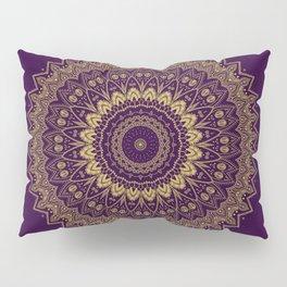 Harmony Circle of Gold on Purple Pillow Sham